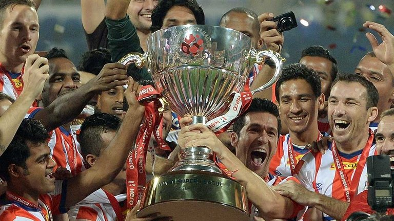 Indian Super League has become world's fourth biggest football league