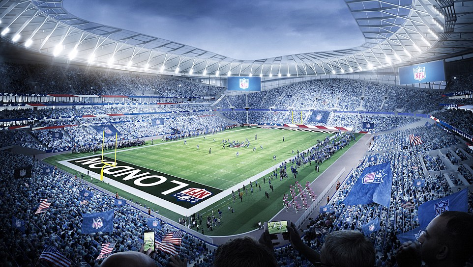 Tottenham Hotspur to host American football at new ground